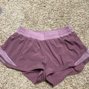 Lulu Lemon Hotty Hot Shorts